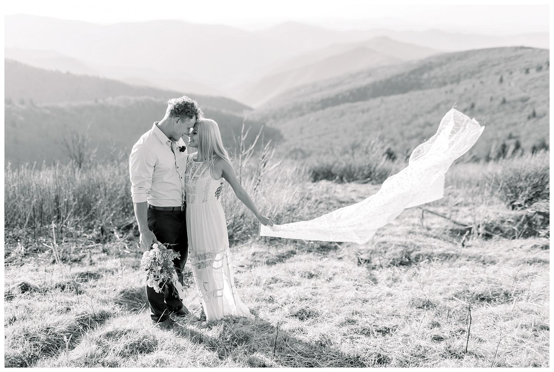 Blue Ridge Mountain elopement