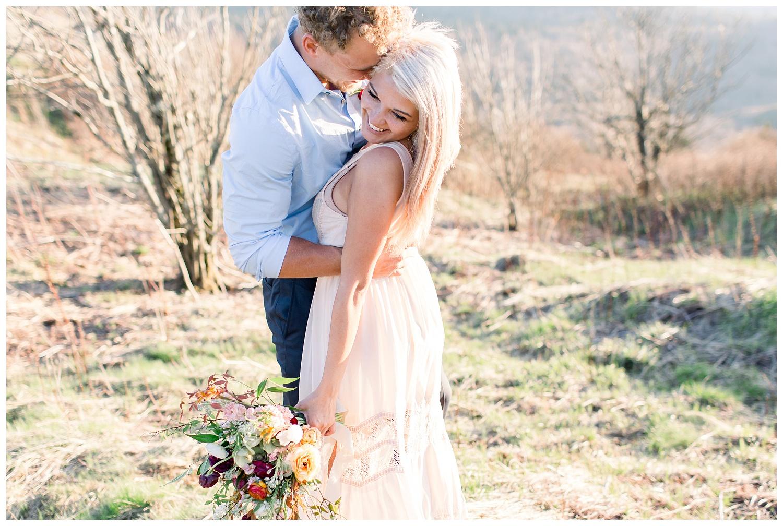 Blue Ridge Mountain elopement photos