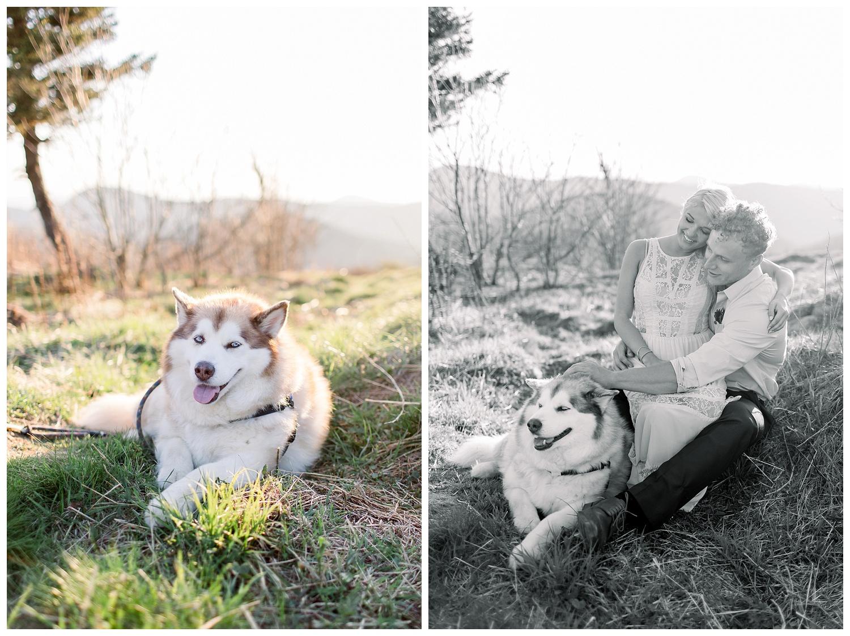 Unique elopements in North Carolina mountains