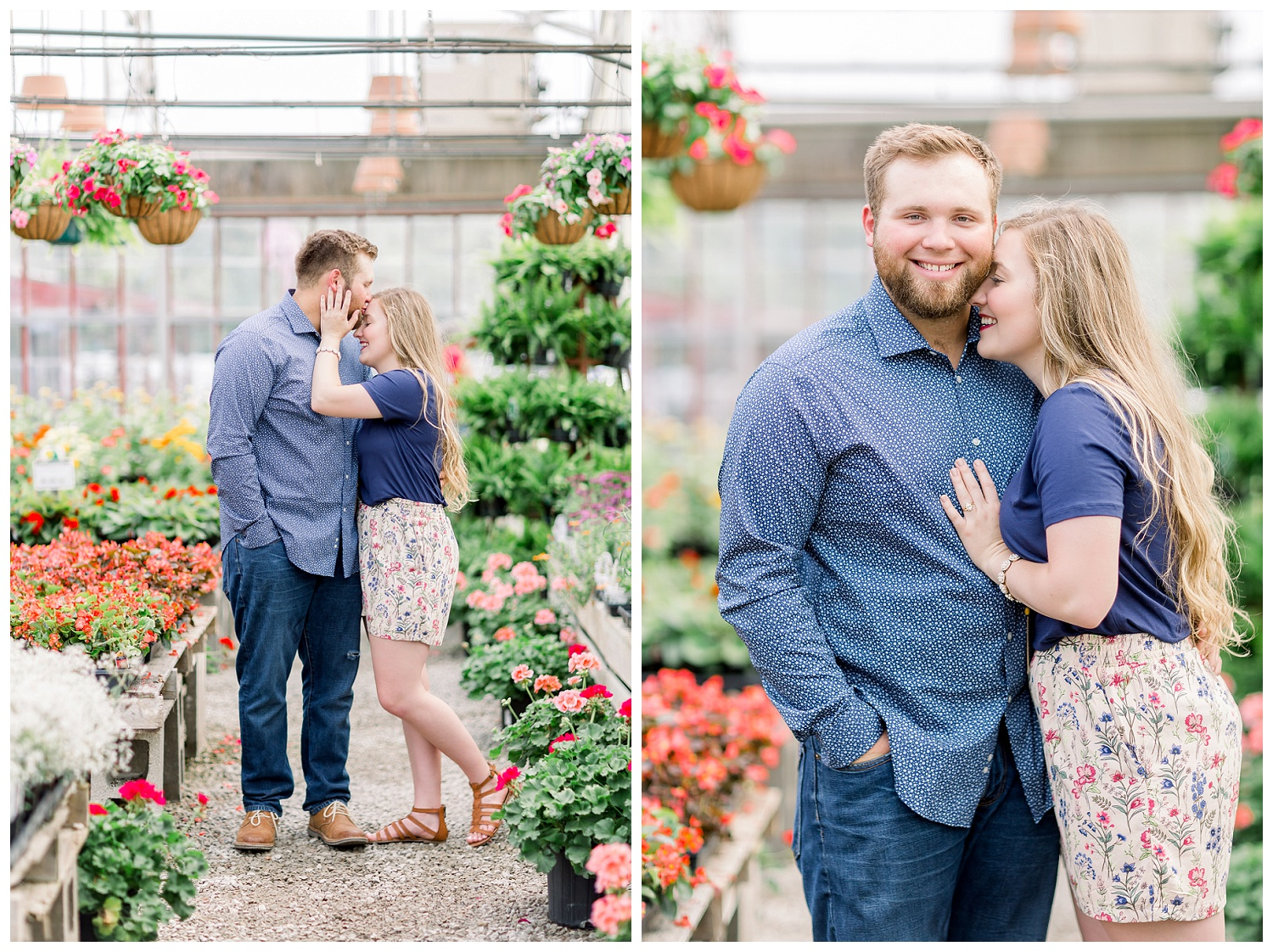 Engagement session at Farrand Farms Independence Missouri