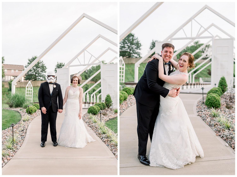 Unique wedding photography Kansas City