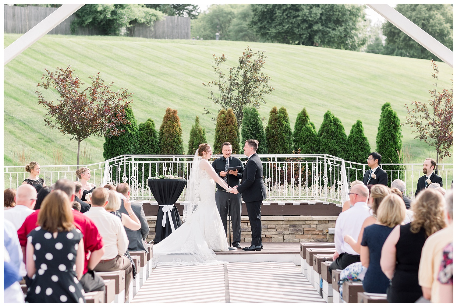 The Pavilion Event Space outdoor wedding chapel