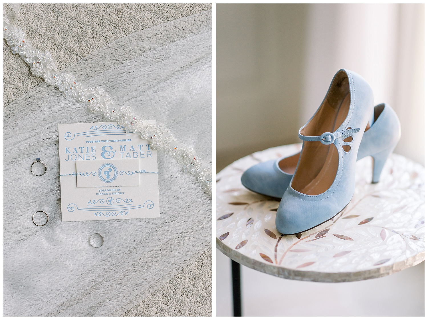 blue wedding shoes for brides