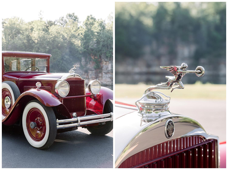 vintage cars in weddings