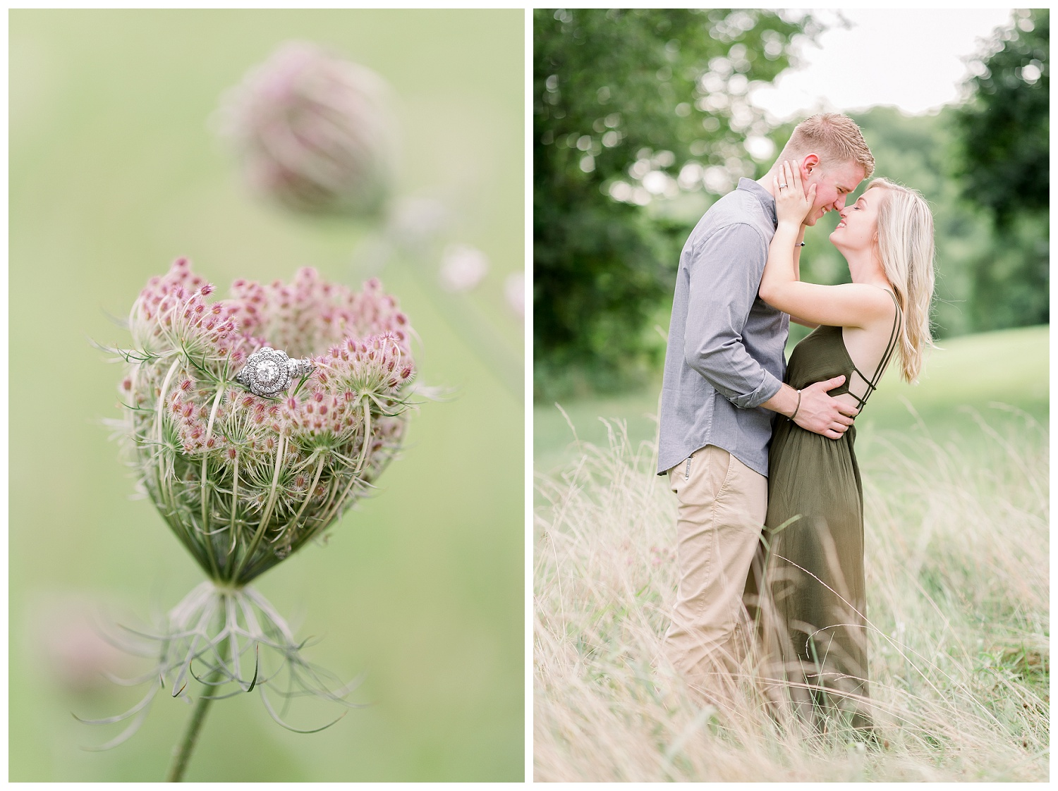 Light and airy wedding and engagement photographer
