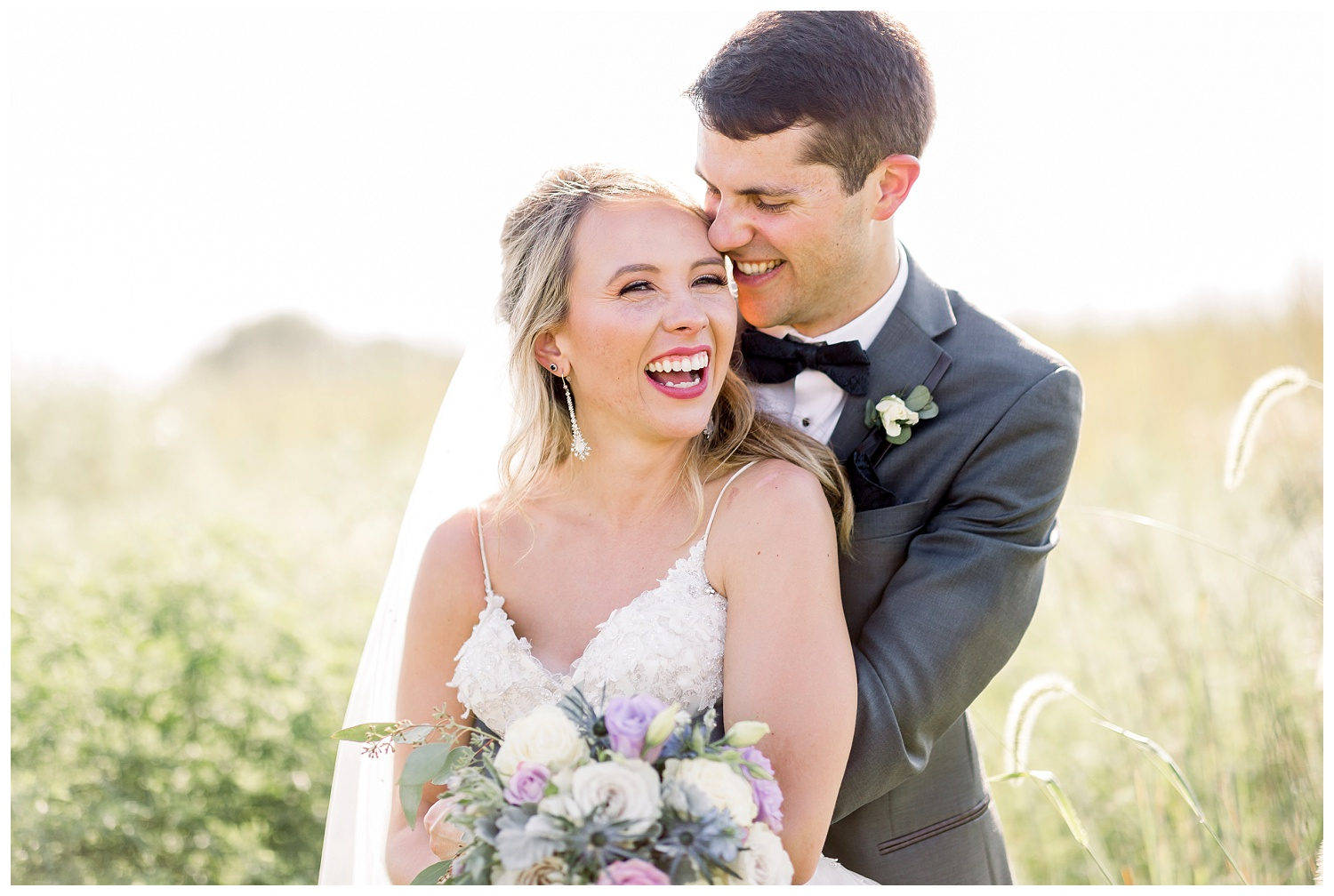 joyful and genuine kansas city wedding photography