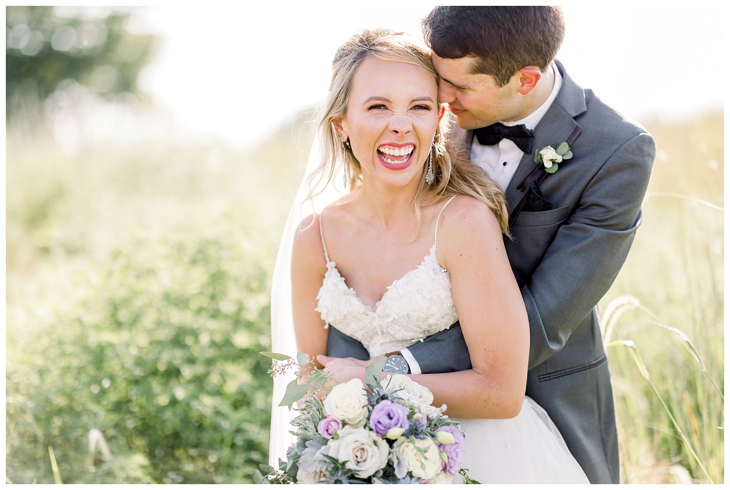 light and bright wedding photographer in Kansas City