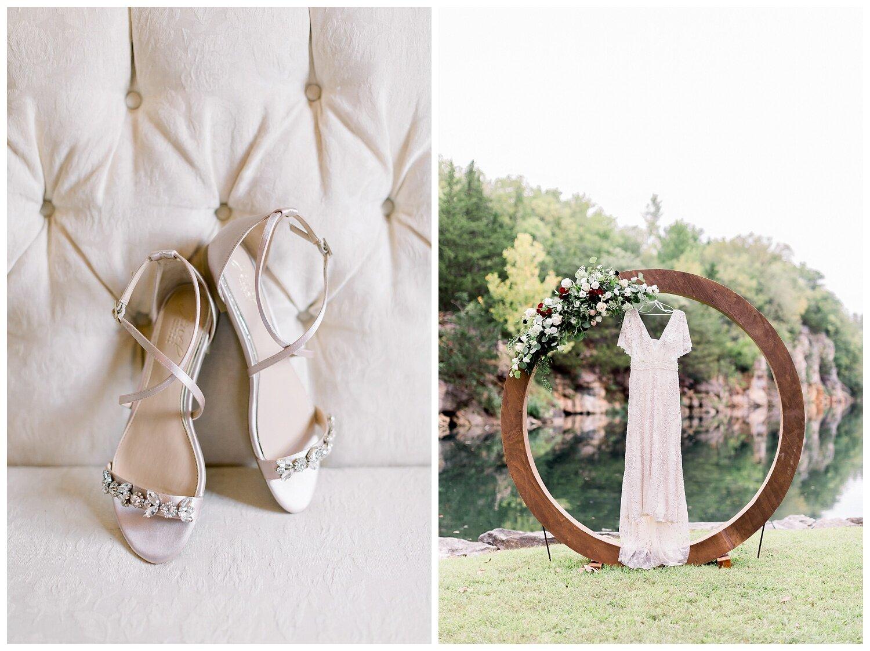 bridal detail photos at Wildcliff event venue