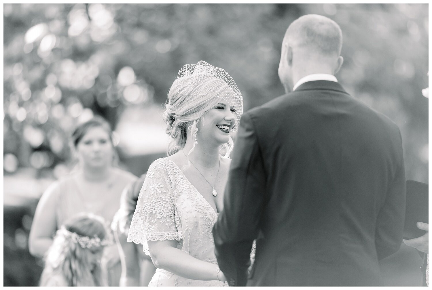 outdoor wedding at wildcliff weddings and events