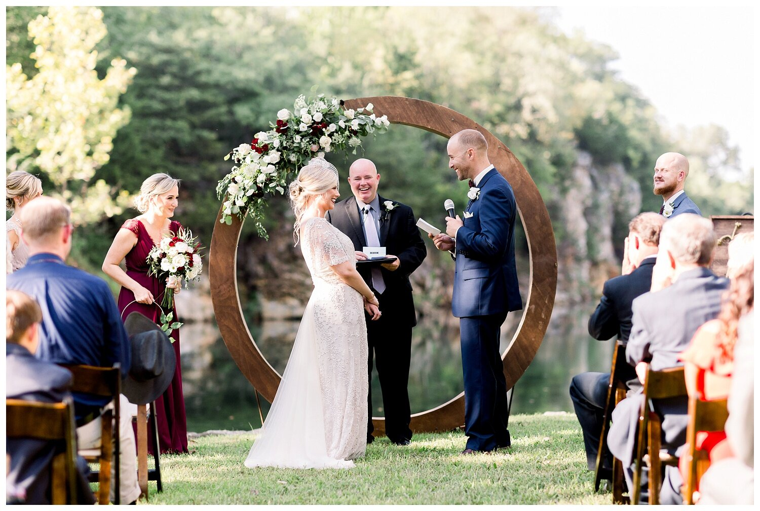 wedding photos at Wildcliff events