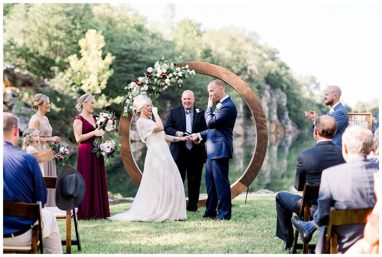 genuine wedding photography