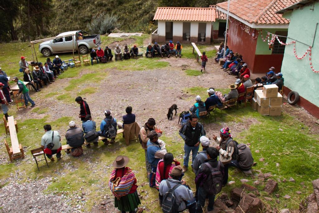 Villagers Gather for Solar Lights.jpg