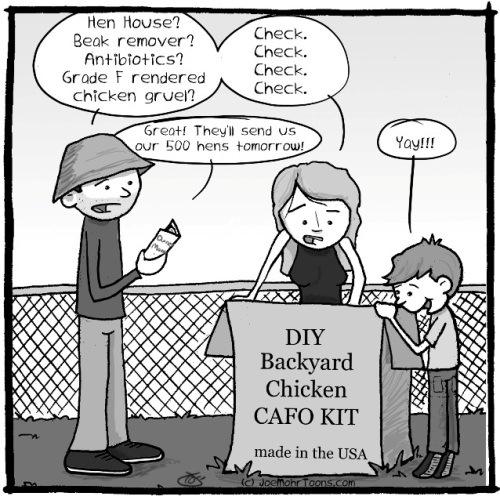 Cartoon courtesy of Joe Mohr