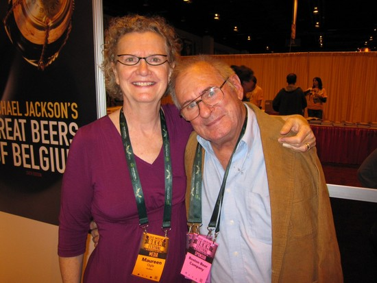 Also not-so-random. With Jack McAuliffe at the GABF bookstore in . . . I don't know. 2011? 2009? Beats me.