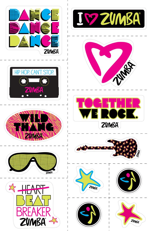 Zumba Kids Stickers