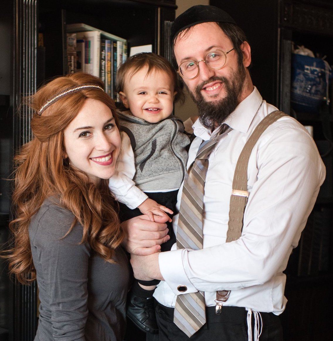 Rabbi Levi Welton Family Photo