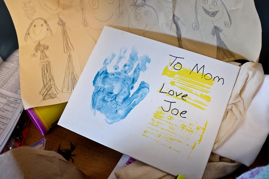 Joe's gift to Angie on her birthday.