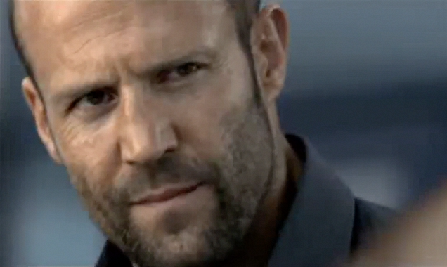 Jason Statham in Gazprom Commercial