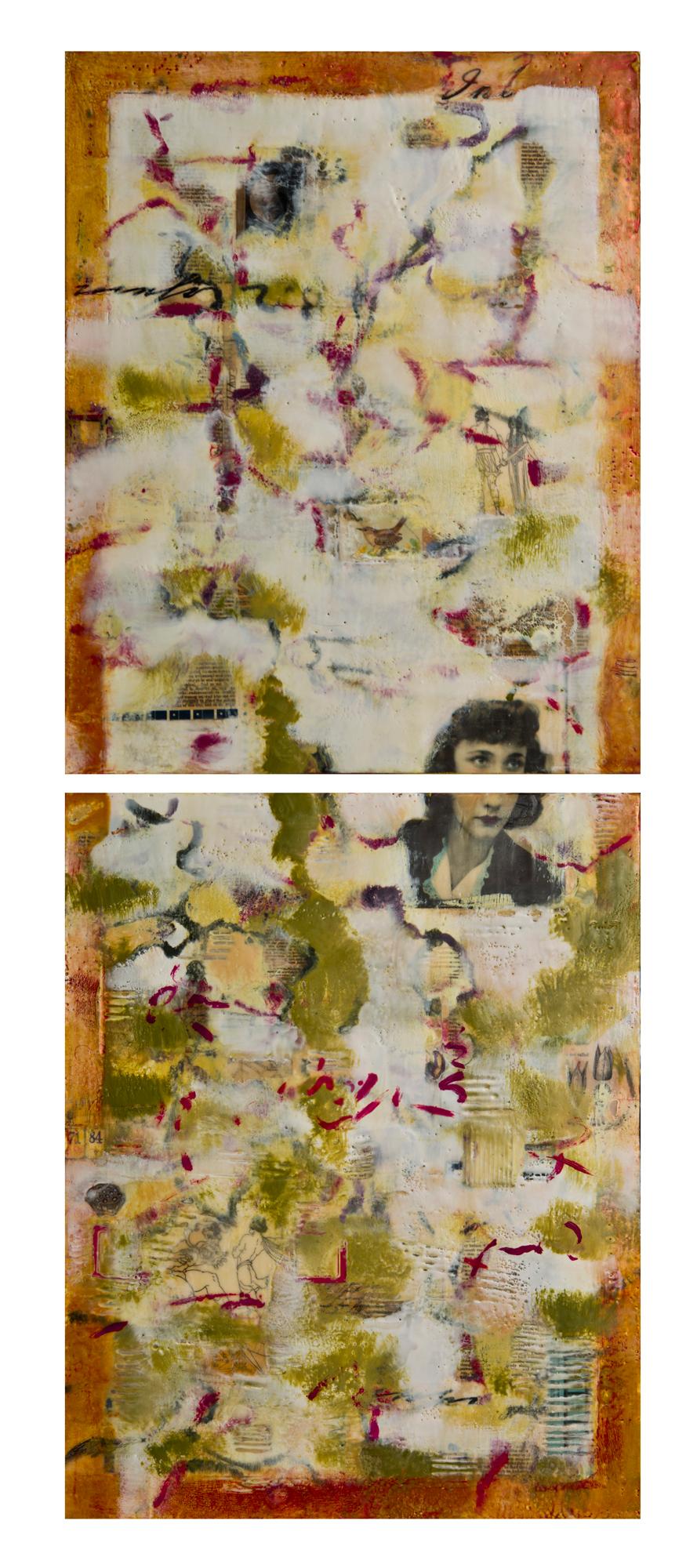 Something Remains (Ariadne),  16 x 40