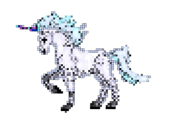 "Thanks, Google Image for this ""Digital Unicorn!"""