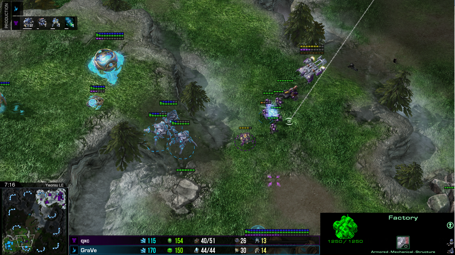 Qxc hit's GraVe with his gas first Hellion/Marine/Mine/Medivac Play