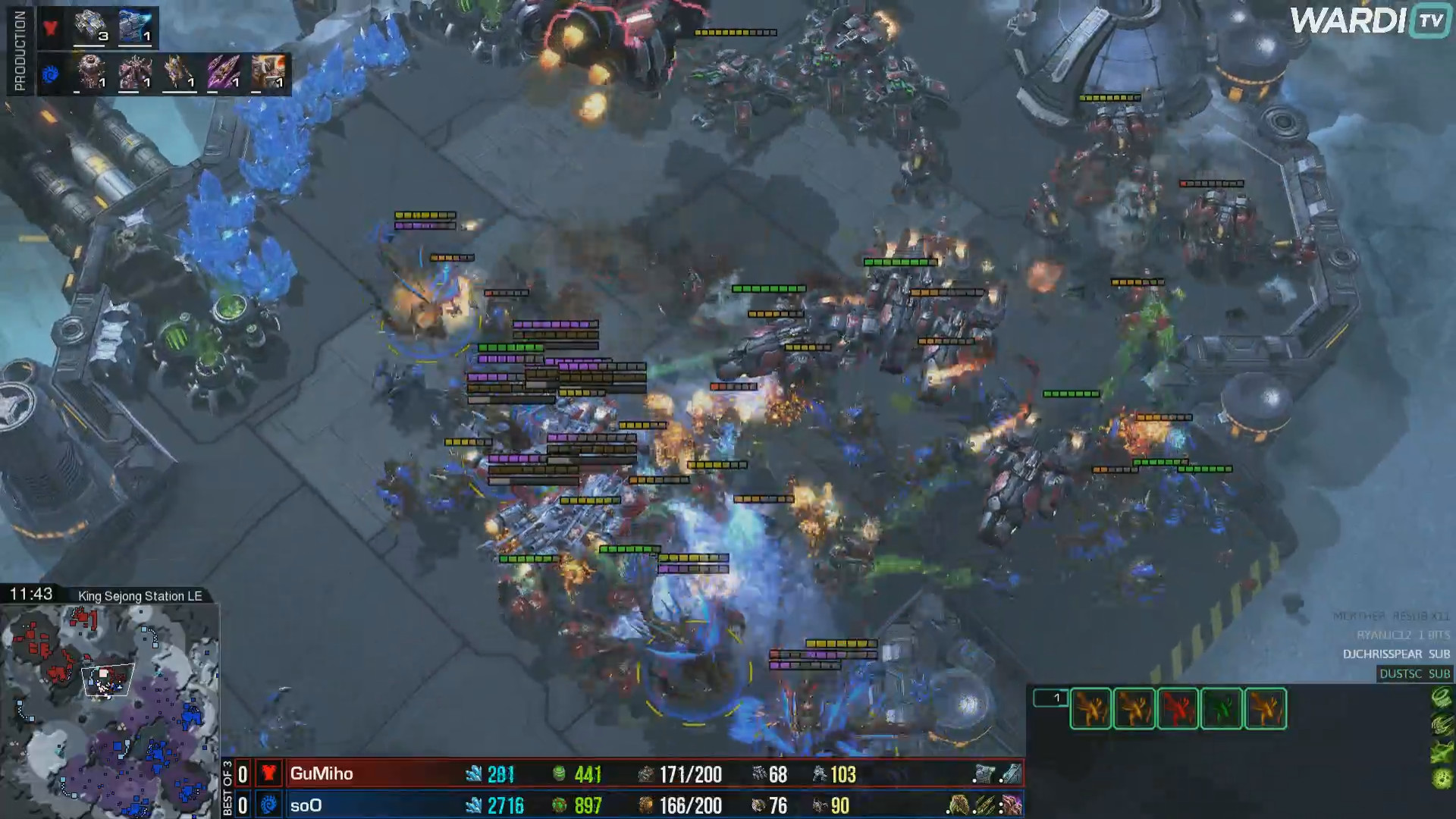 GuMiho made it look easy against soO in Game 1 in the qualifier as his mech army crushed soO in the mid-game.