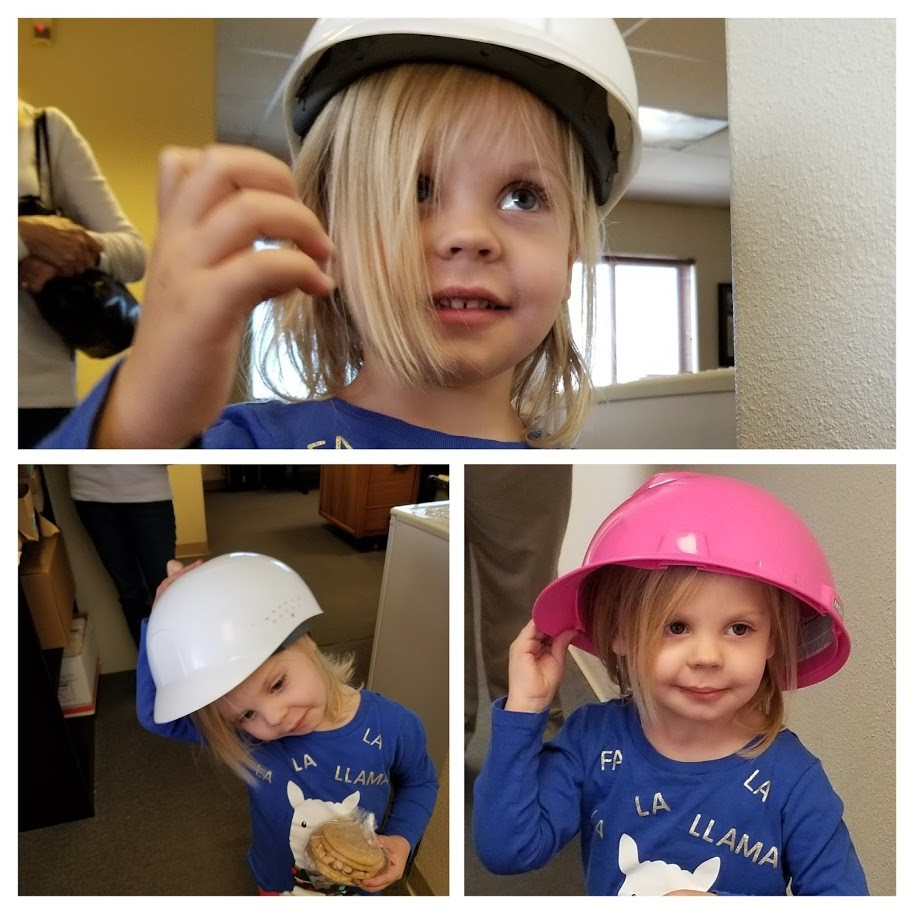 Dear Bixby Electric,  Thank you for the tasty treats you gave me when I came to visit my Papa over Christmas. I also enjoyed trying on the hats—the pink was my favorite.  Happy New Year!  Ava Southerland (Bruce's favorite grandchild)