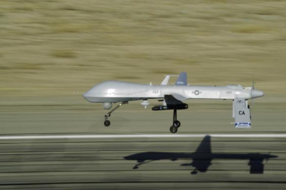 MQ-1 Predator in flight (DoD photo)