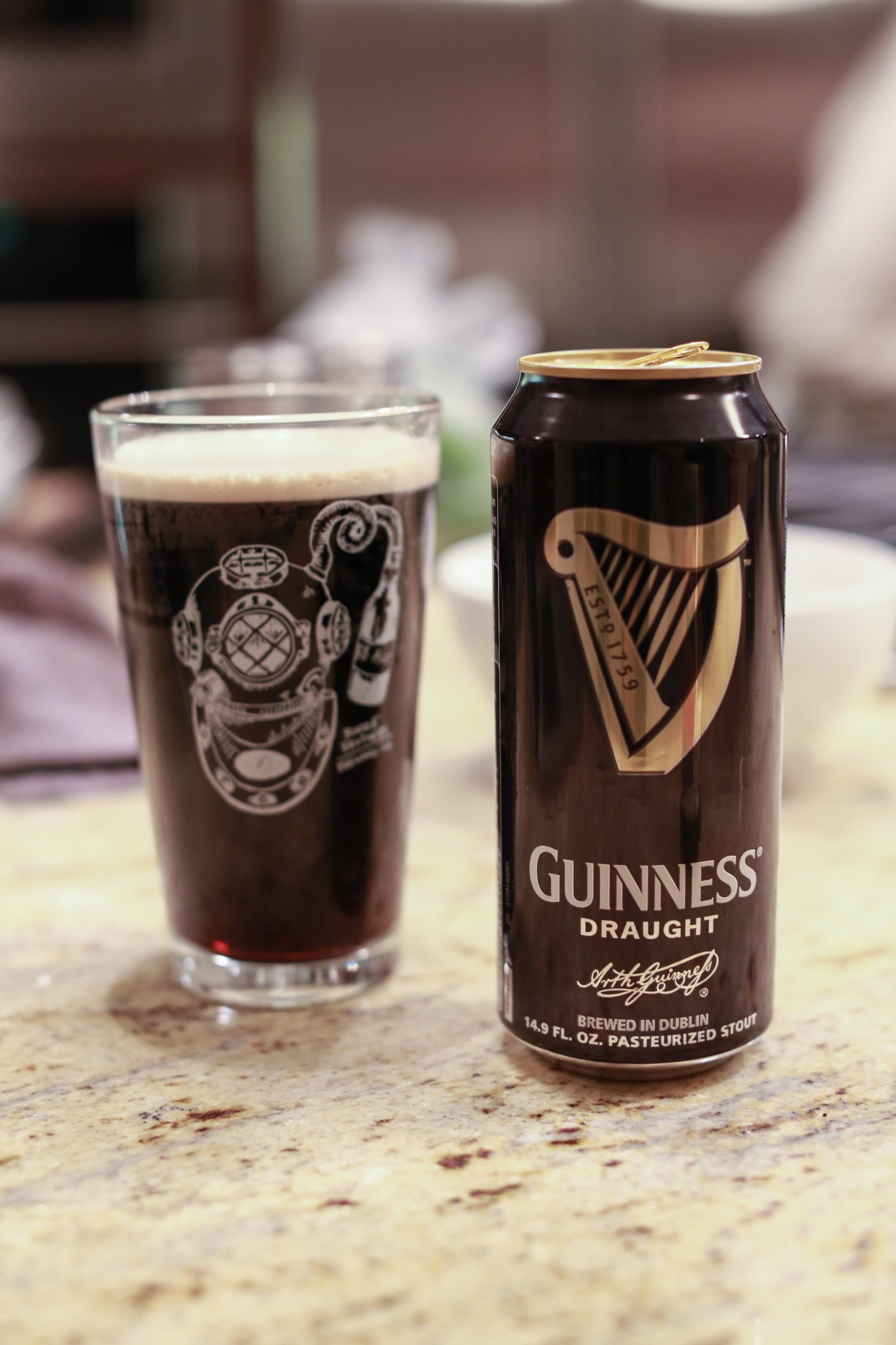 "Jen's new guilty pleasure is the Guinness can that adds the head to a pour ""like in Dublin""."