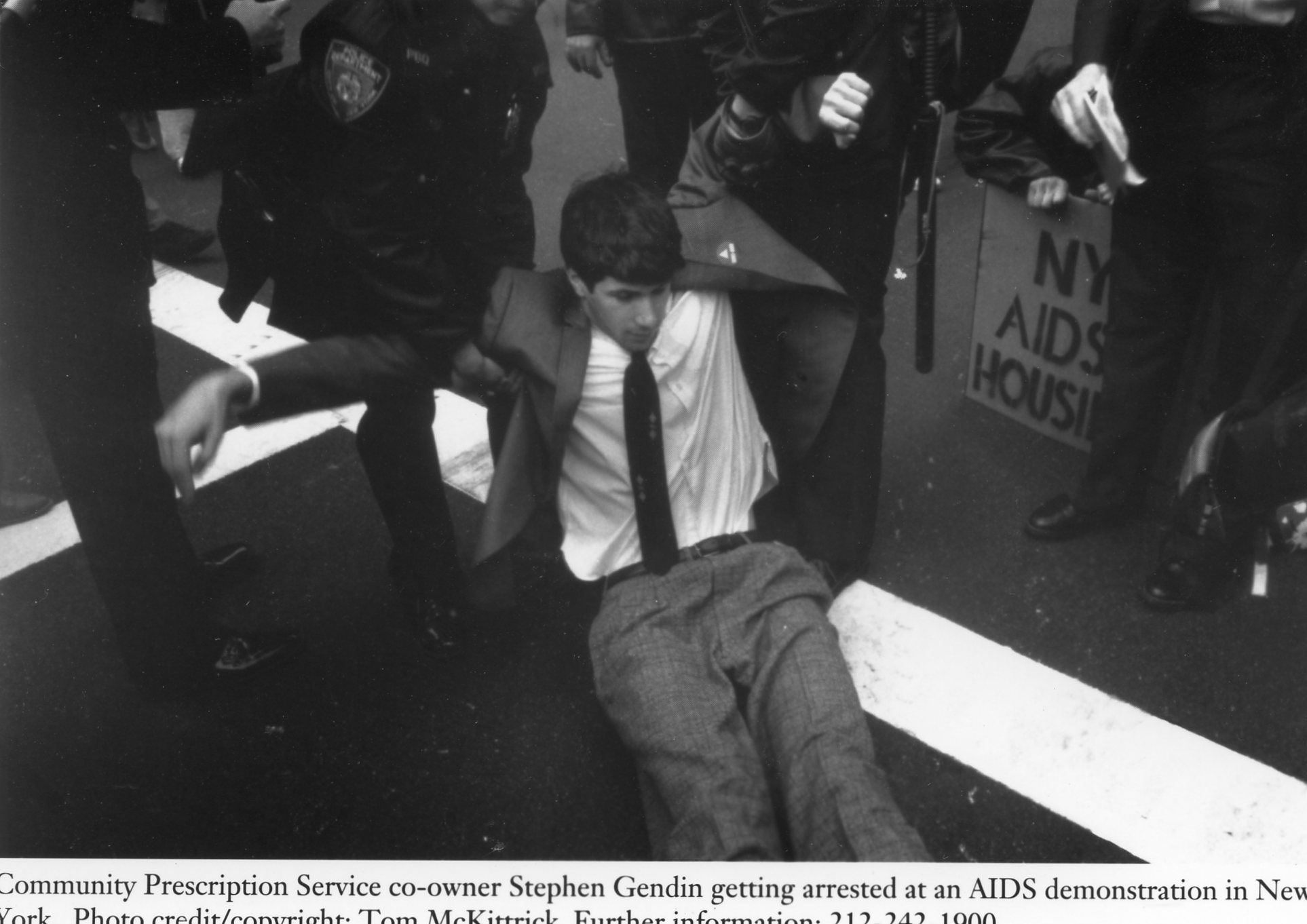 Stephen Gendin getting arrested.jpg