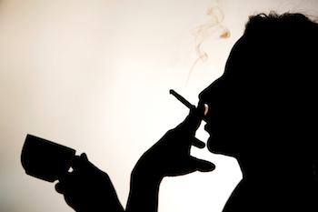 Cigarette smokers can metabolize caffeine twice as fast as non-smokers.