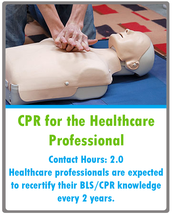 CPR Continuing Education Class