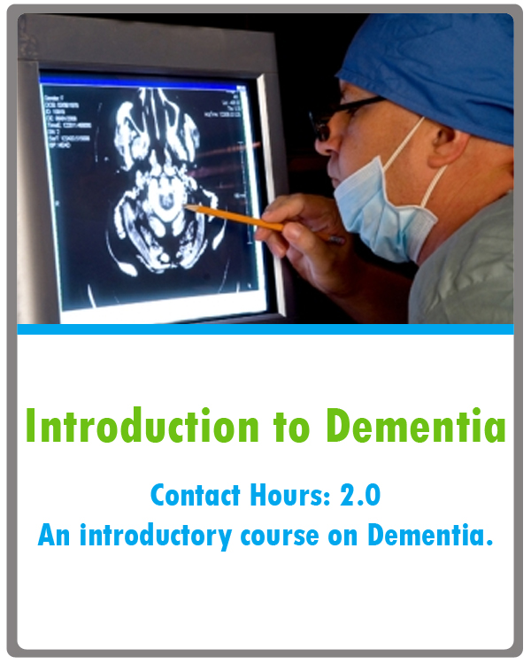 Dementia Continuing Education