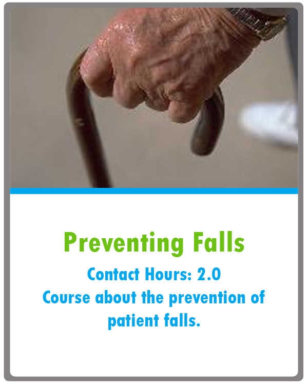 Fall Prevention Continuing Education