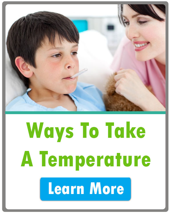 ways to take a temperature nursing
