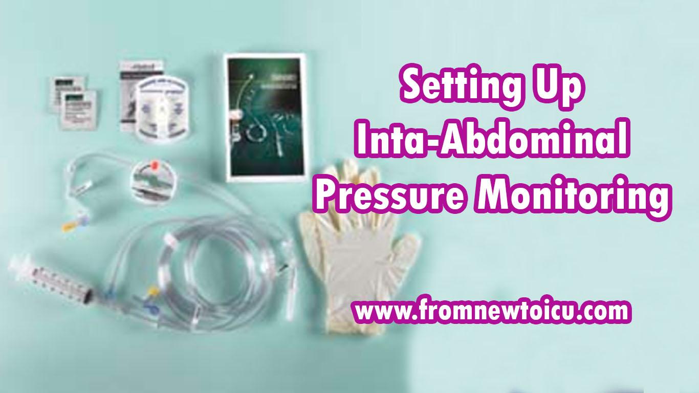 Intra Abdominal Pressure Monitoring