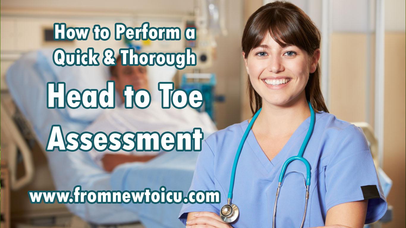 nursing head to toe assessment
