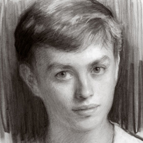 Charcoal Drawn Portraits - Hand drawn charcoal portraits offer a more finished quality than a pencil portrait.VIEW MORE LIKE THIS