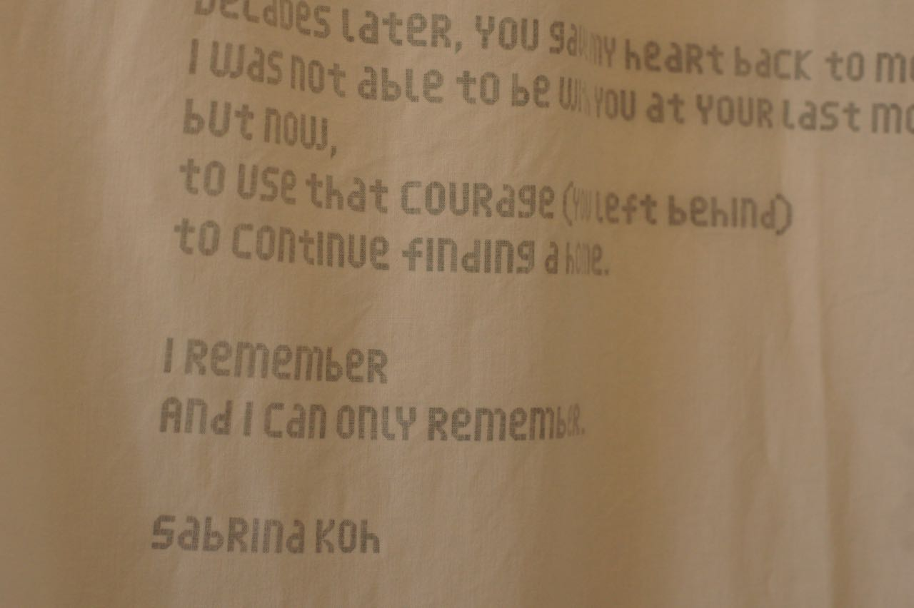 Eulogy by Sabrina Koh