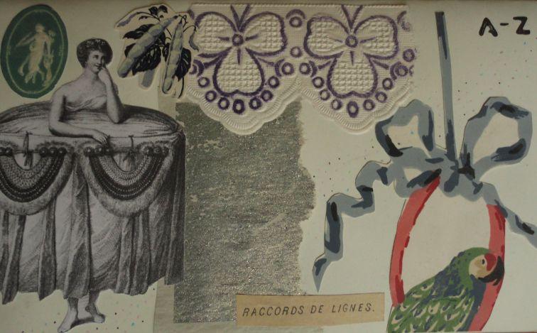 Collage de Mathilde Bloch