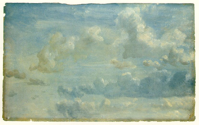 Constable.  Cloud Study . Tate Britain.