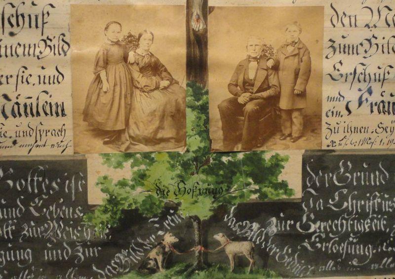 Composition d'anniversaire de mariage, Musée alsacien, Strasbourg