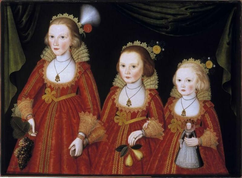 disciple de William Larkin, Trois soeurs, Denver Museum of Art