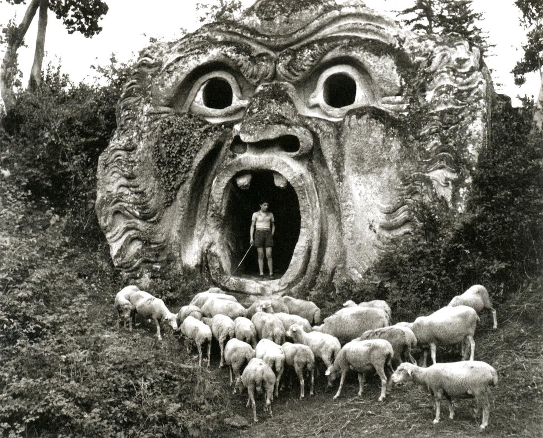 Herbert List. Bomarzo, Parco dei Monstri, 1952.  Magnum