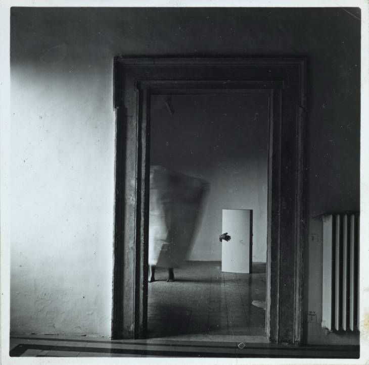 Francesca Woodman,  Angel Series , Rome, 1997, Tate