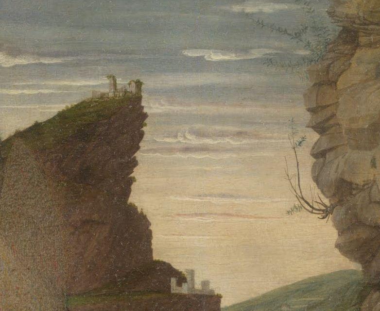 Andrea Mantegna. Triptyque. Musée des Offices, Florence.