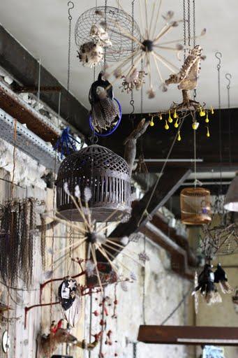 Maïssa Toulet. Cabinet de sorcellerie / installation au Comptoir général, Paris. 2009-2014.