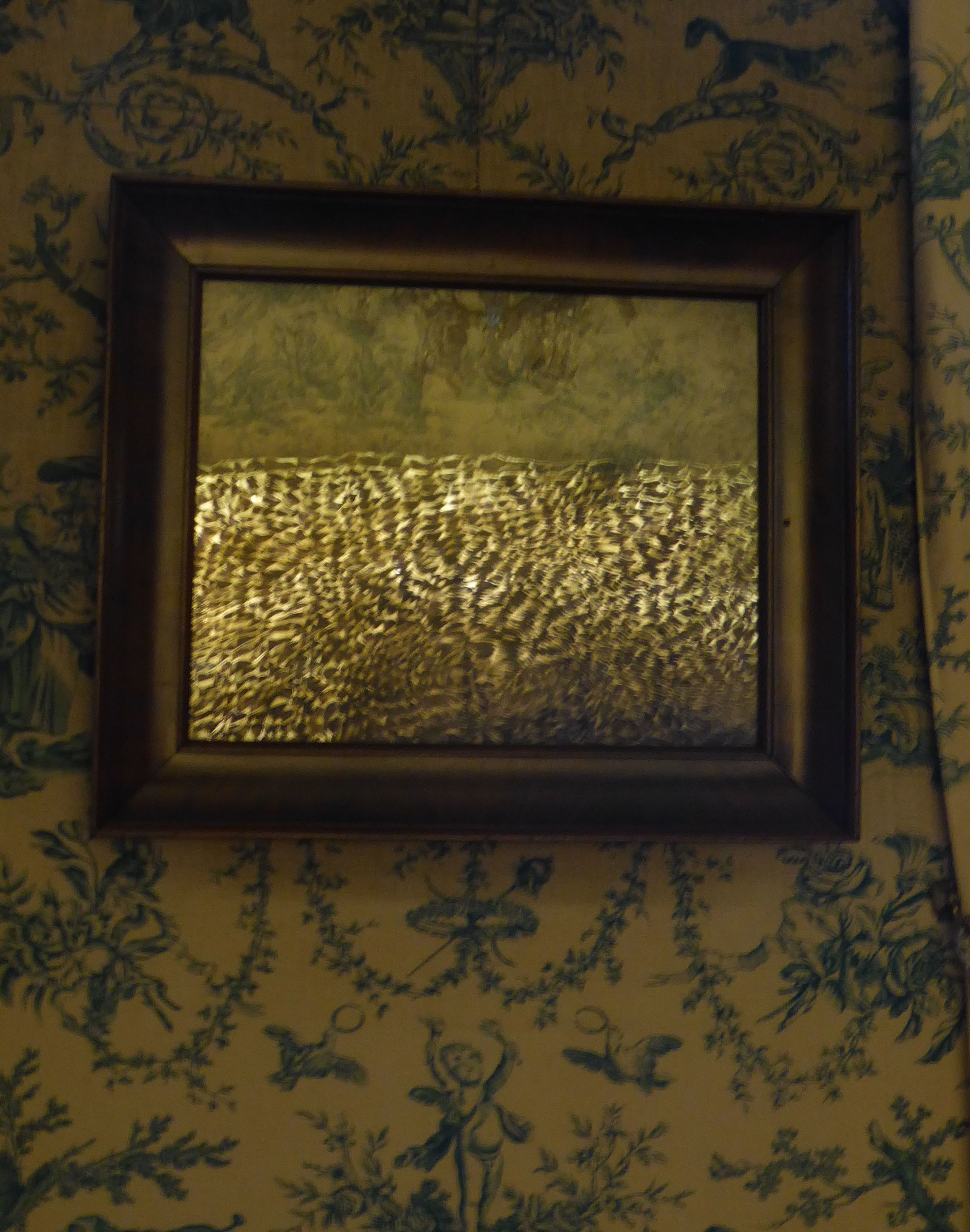 Reflet d'une lampe de  Jean Meirlaen , Design Museum., Gand