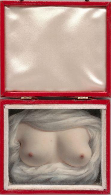 Sarah Goodridge ,   Beauty revealed  , aquarelle sur ivoire, 1828. Metropolitan Museum of Art, New York