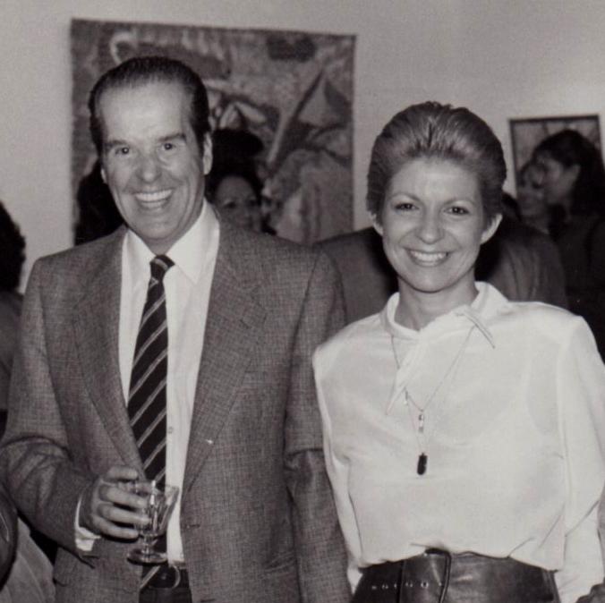 Yolanda del Riego with Eduardo Mouton